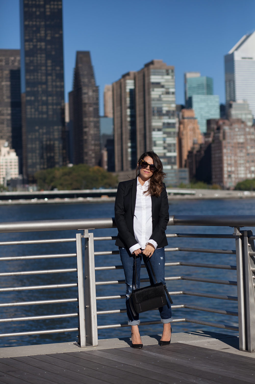 black-blazer-classic-look-black-manolo-pumps-distressed-denim-new-york-city-fashion-blogger-corporate-catwalk-4