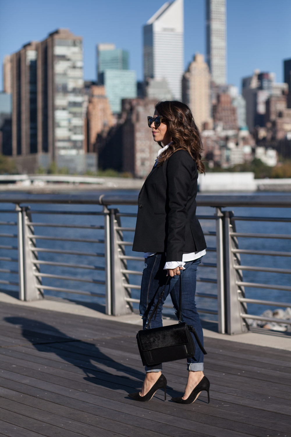 black-blazer-classic-look-black-manolo-pumps-distressed-denim-new-york-city-fashion-blogger-corporate-catwalk-6
