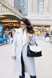 New York Grand Central What to Wear to Work Ministry Workwear Corporate Style Work outfits Corporate Catwalk Mgemi nude heels NYC Glasses