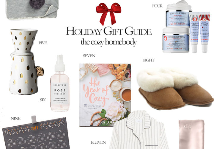 2016 Holiday Gift Guide | The Cozy Homebody