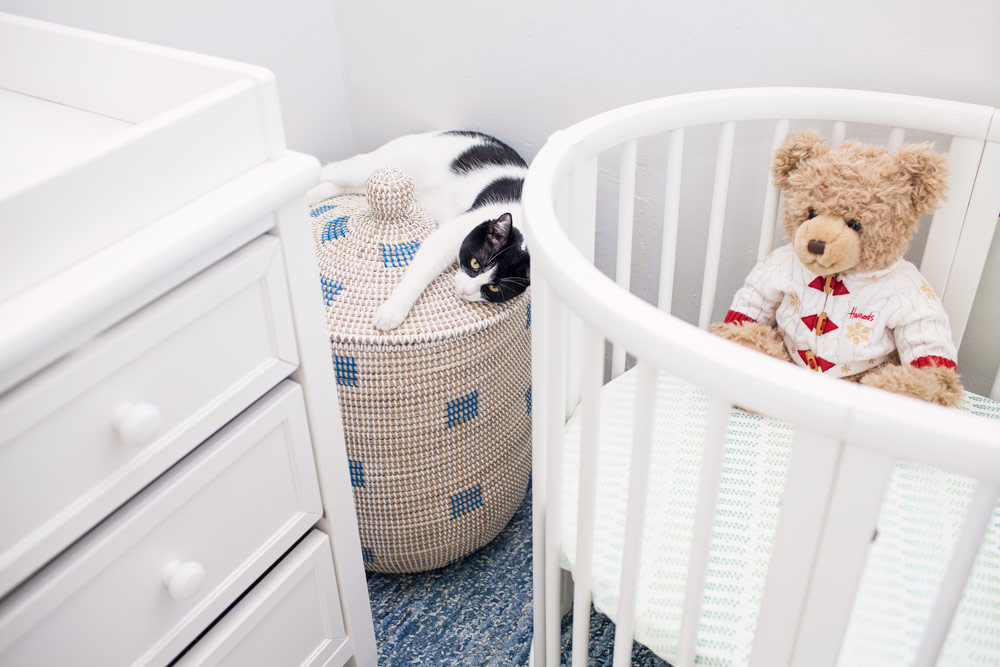 How to Setup a Nursery in a Small New York City Apartment Stokke Crib Mini Sleepi Corporate Catwalk