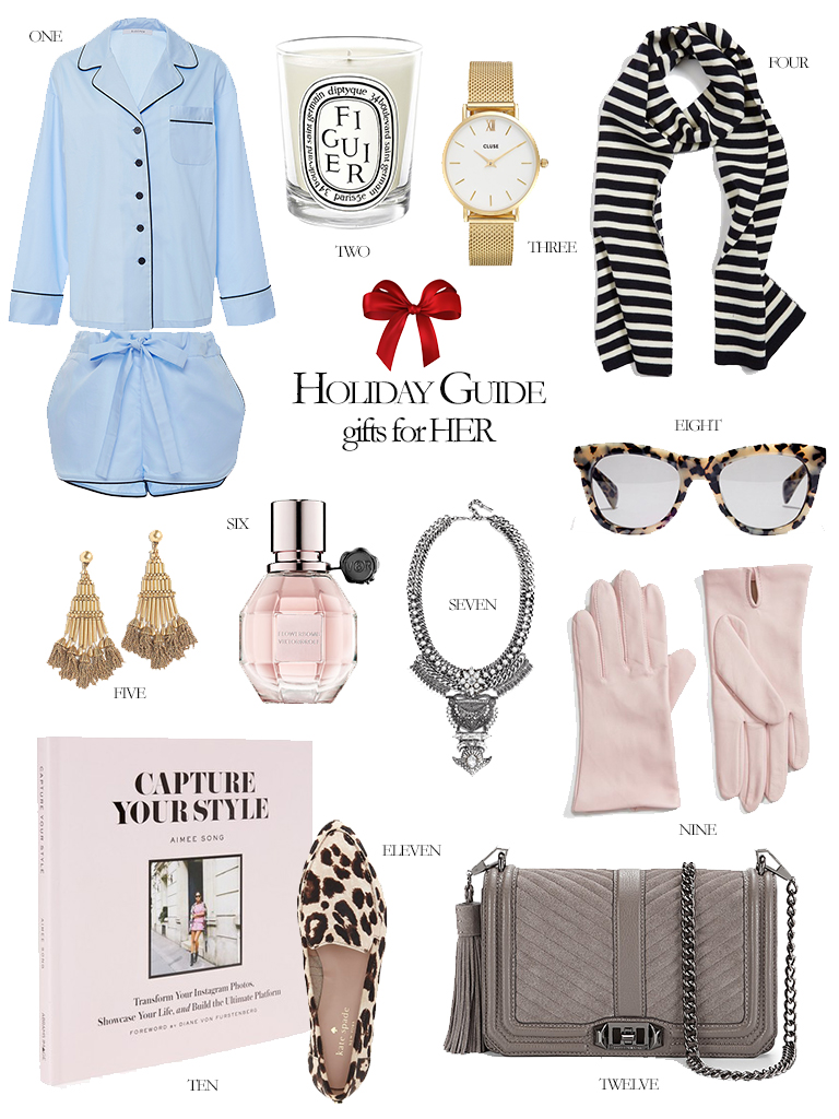2016 Holiday Gift Guide for Her the Perfect Gifts for the Holidays Ultimate Guide to Gifts this Year