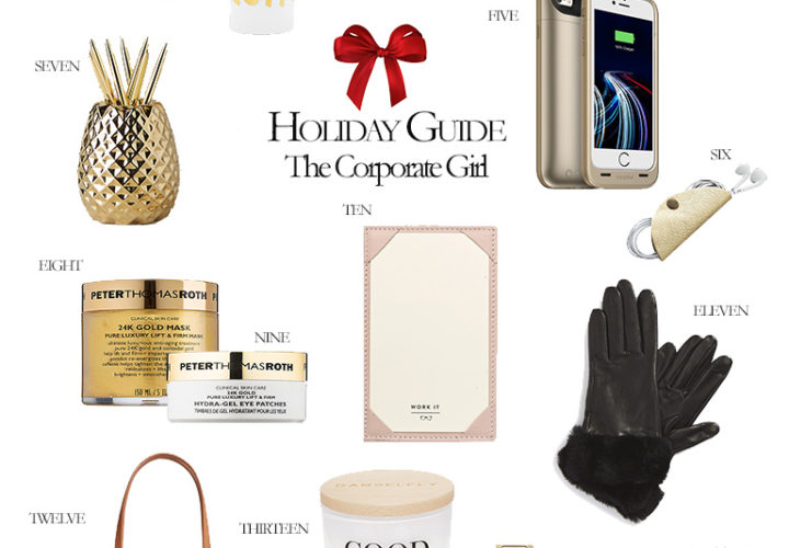 2016 Holiday Gift Guide | The Corporate Girl