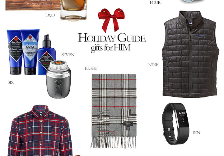 2016 Holiday Gift Guides | Gifts For Him