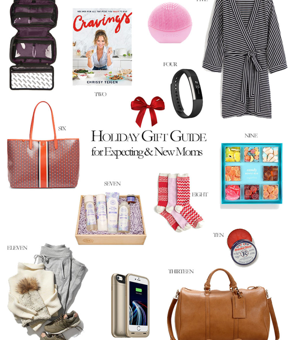 What to buy for an expecting and new New Mom Gift Ideas Holiday Gift Guide Corporate Catwalk