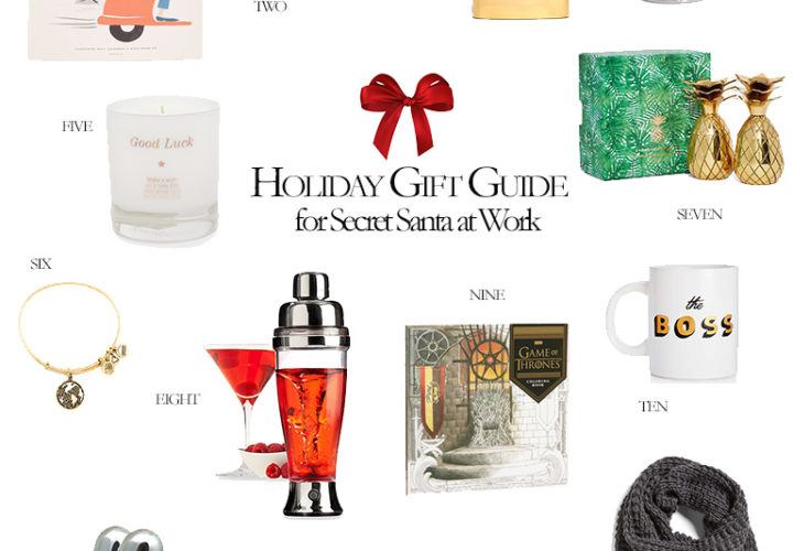 13 Secret Santa Gifts That Will Make Your Coworker Smile