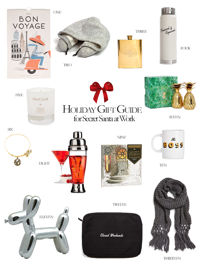 2018 holiday gift guide for secret santas at work what to get for your gifts at 13 secret santa gifts that will make your coworker smile olivia