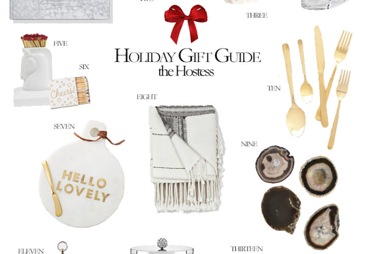 2016 Holiday Gift Guide | The Hostess