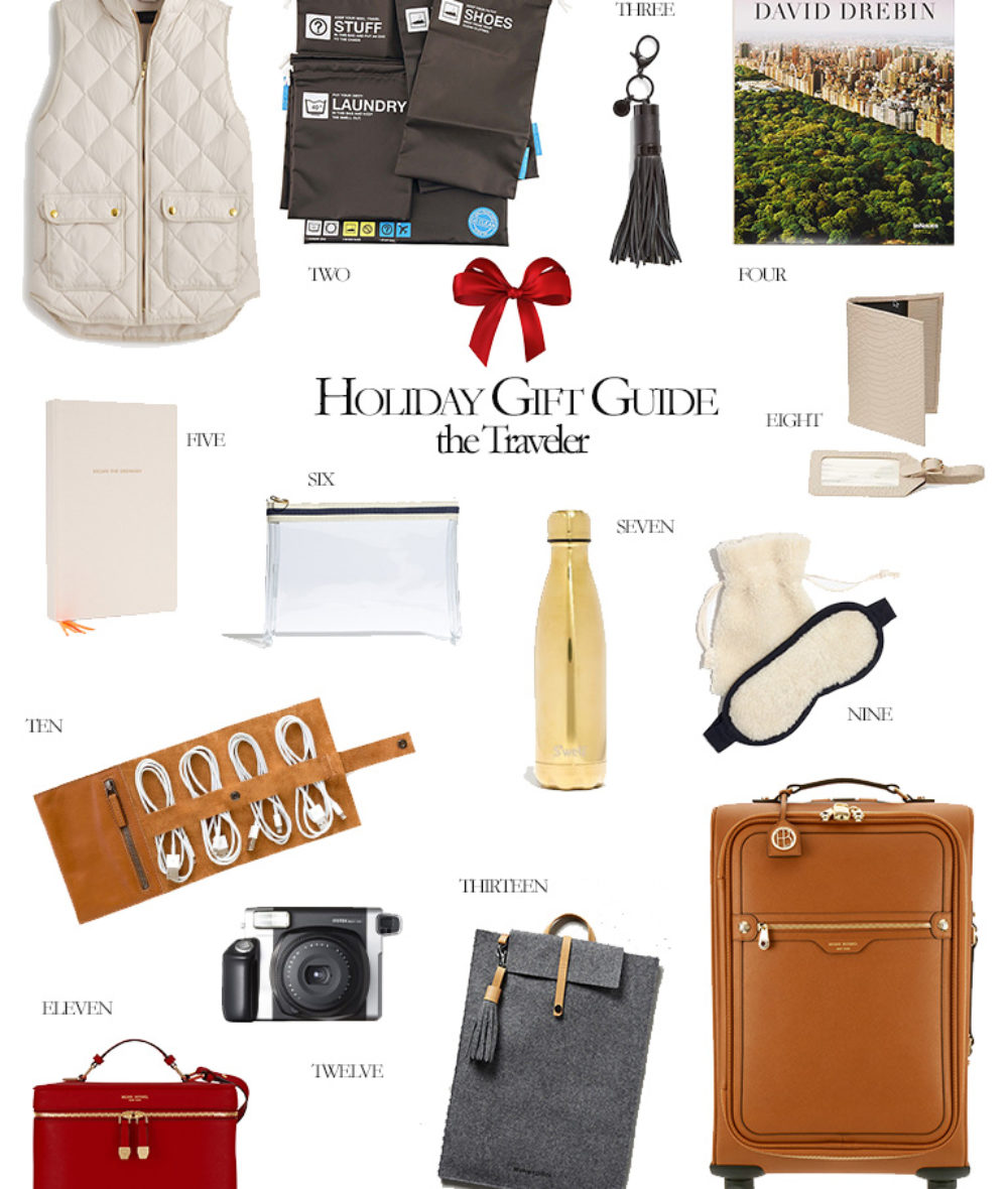 2016 Holiday Gift Guide the the Traveler