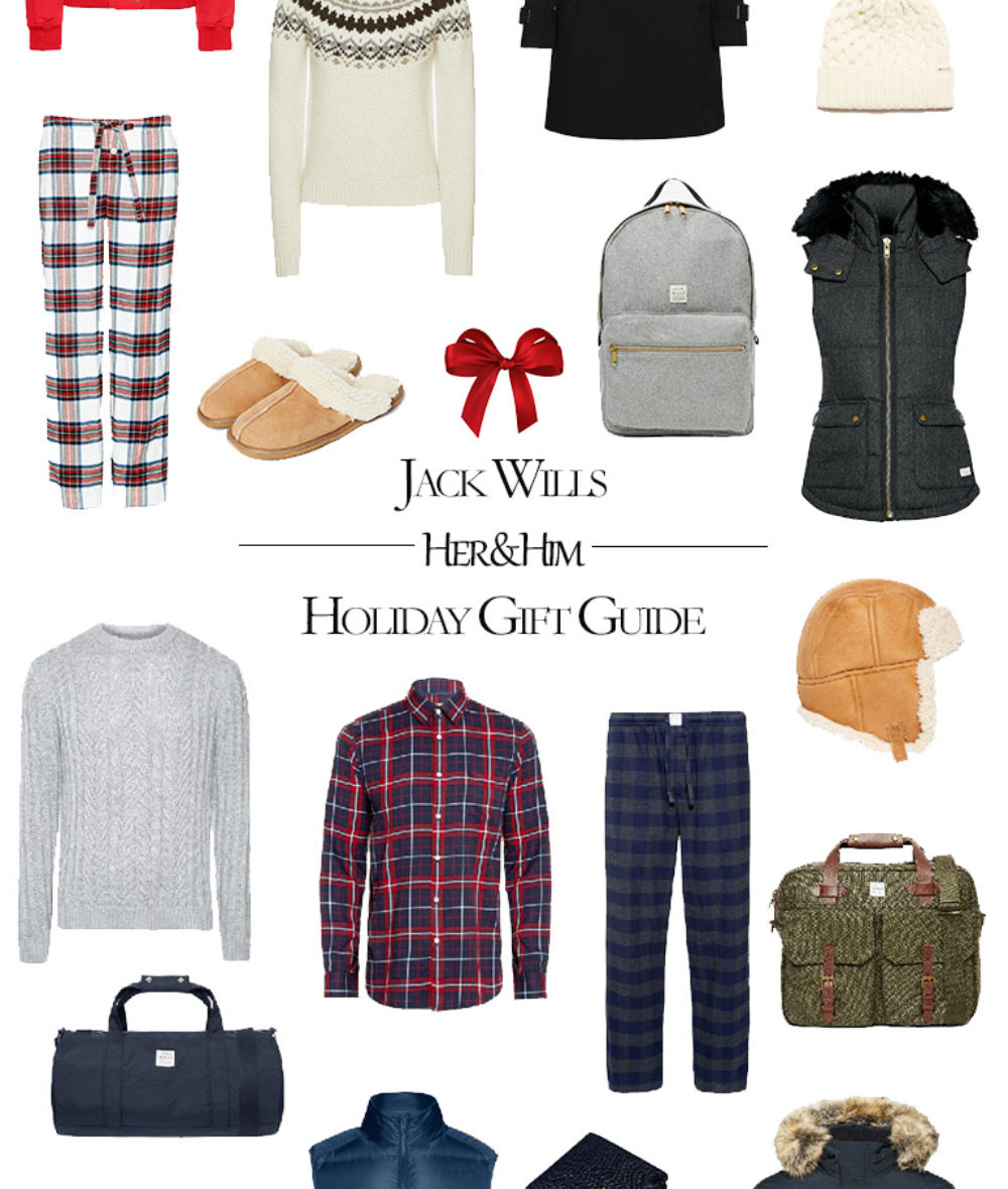 2016 Jack WIlls Holiday Gift Guide for Her and Him