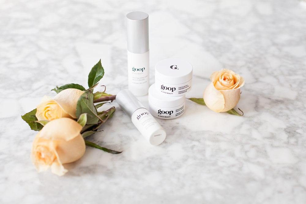 GOOP Product Beauty Review Discovery Set Juice Bueaty Revitalizing Day Moisturizer Enriching Face Oil Replenishing Night Cream Exfoliating Instant Facial Corporate Catwalk New York Lifestyle Blog