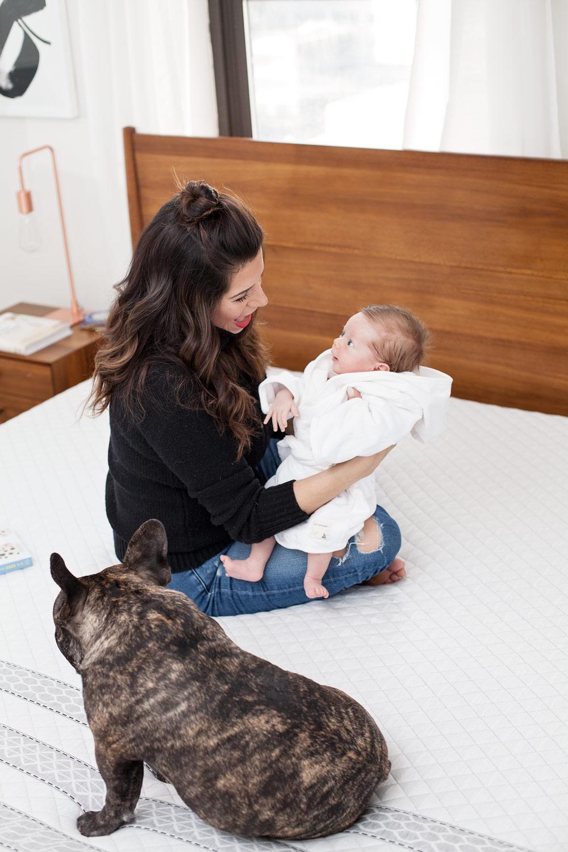 Sapira Sleep Mattress Better Sleep Review on Sapira Mattress Family photos King size bed Best Mattress to Buy Corporate Catwalk New York City Lifestyle Blogger