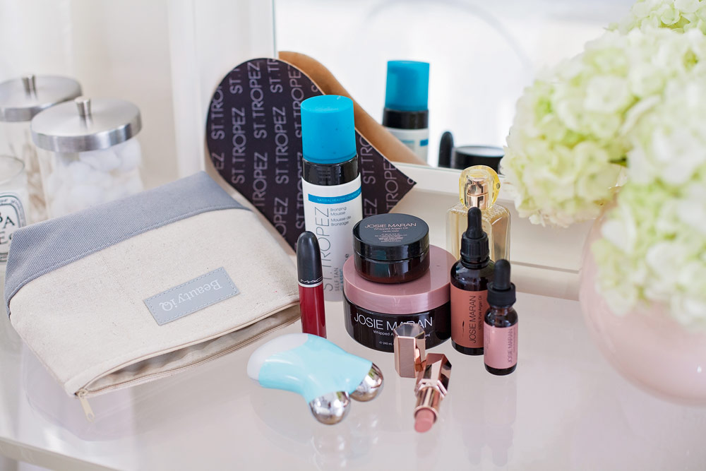 QYC Beauty IQ Brave is Beautiful Josie Maran Vanilla Wafer Argan Oil Beauty Review Lipstick