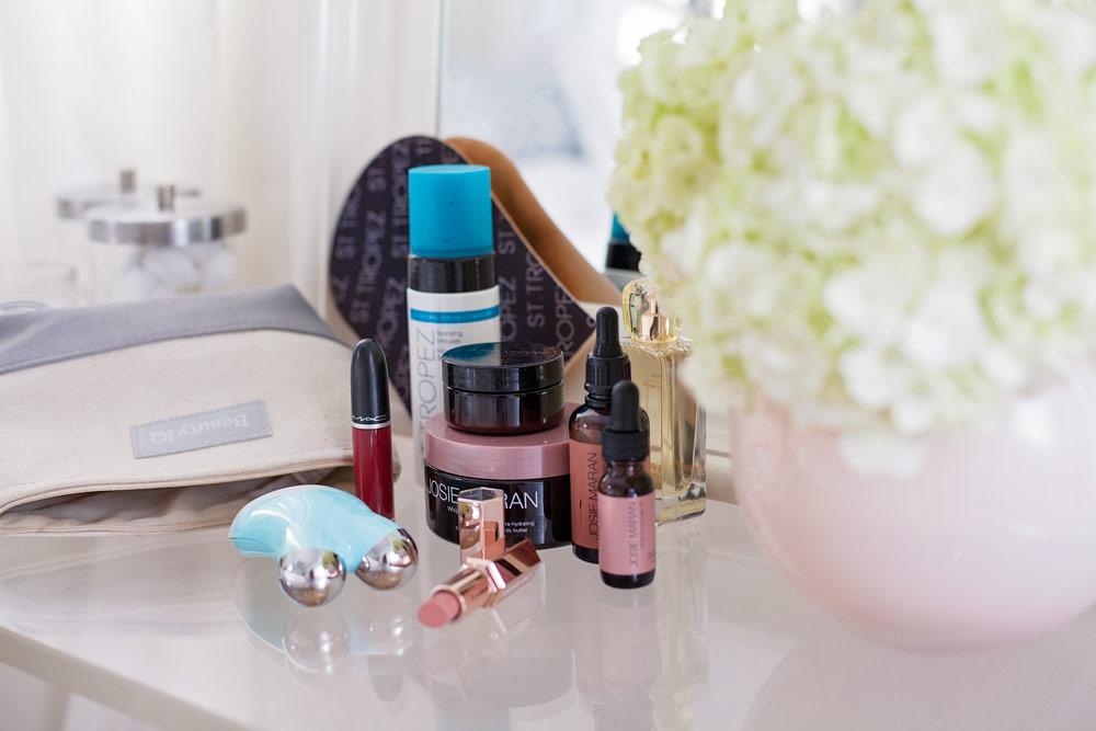 QYC Beauty IQ Brave is Beautiful Josie Maran Vanilla Wafer Argan Oil Beauty Review Lipstick NuFace Review