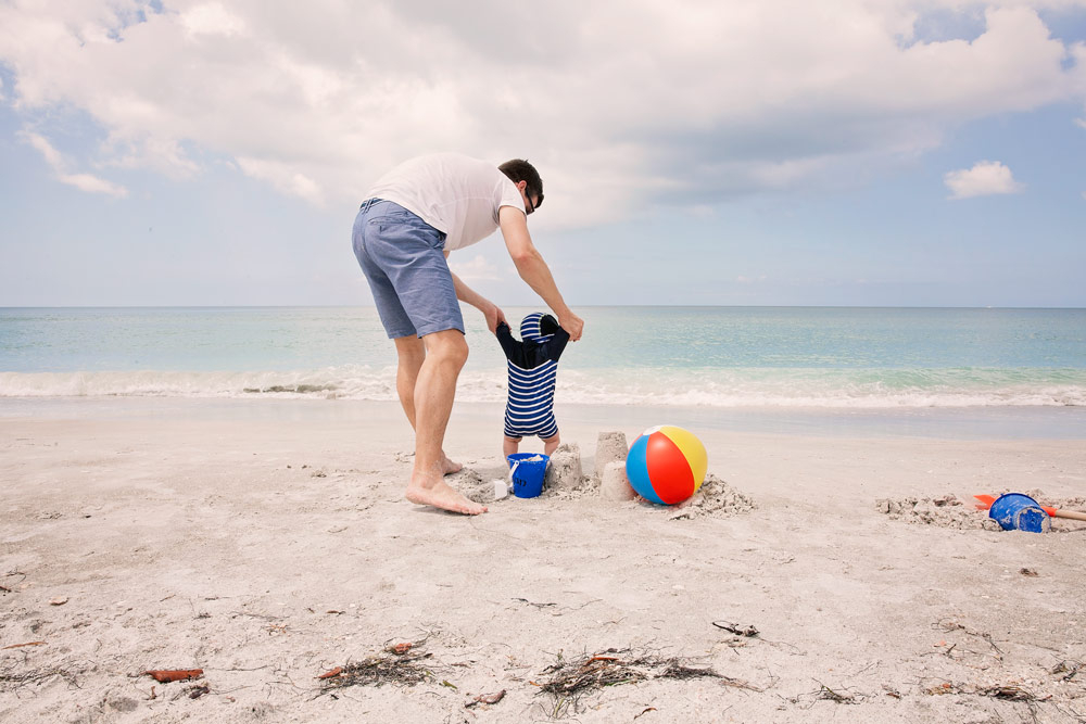 What to bring to the beach with a baby Sarasota Ritz Carlton Summer Family Getaway