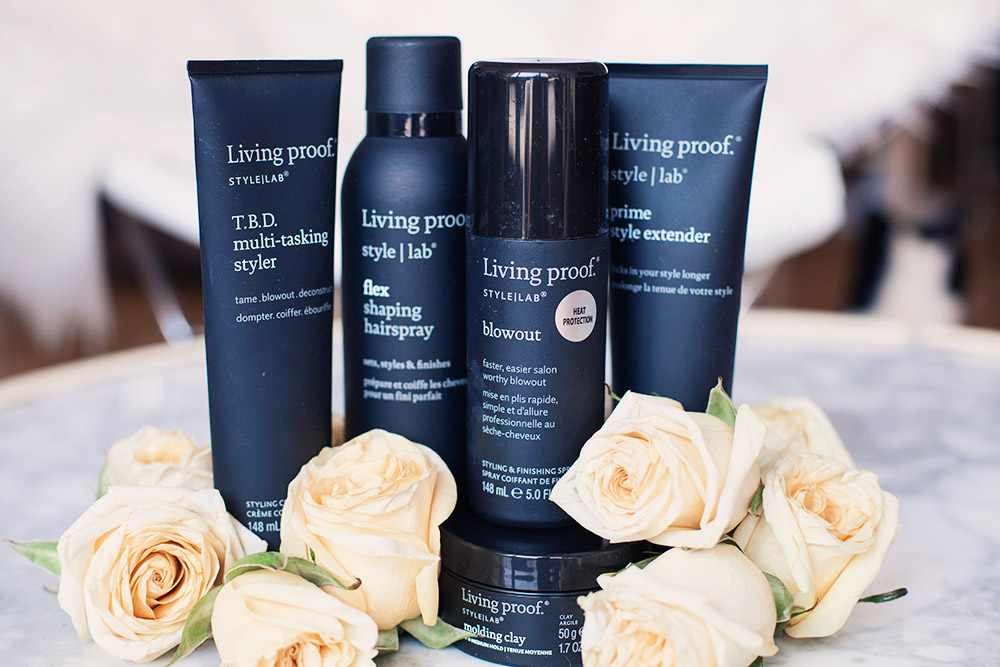 Living Proof Style Lab Sephora Perfect Blowout T.B.D. Multi-tasking styler flex shaping hairspray blowout molding clay prime style extender