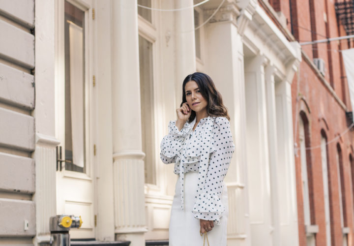3 Rules For Wearing White