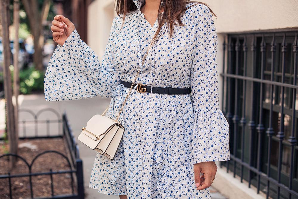 8d99f8b6e West Village Wandering Dress Gucci Belt Strathberry Bag 30 - Olivia ...
