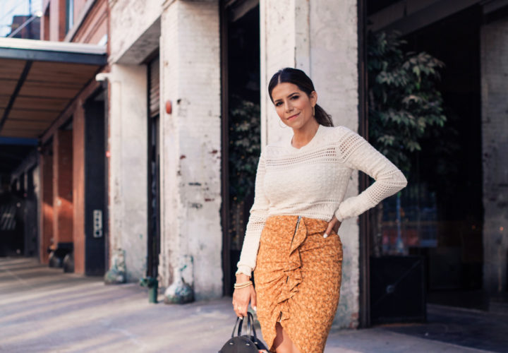 NYFW Day 4   The Ultimate Fall Skirt