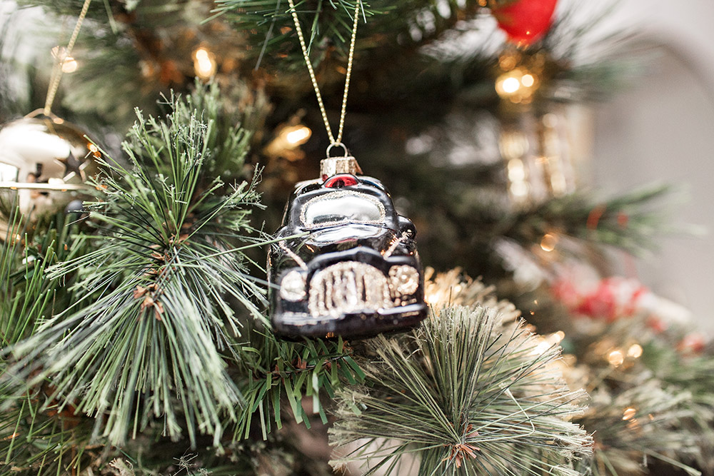 Marks & Spencer Christmas tree ornament London Style holiday traditions