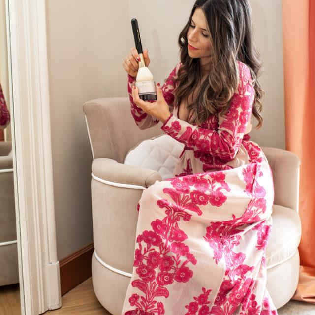 Laura Mercier Setting Powder, Sigma makeup brush, makeup favorites