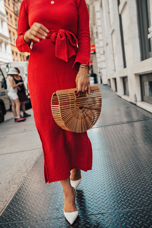 Malia Mills Red Dress Soho LIllet