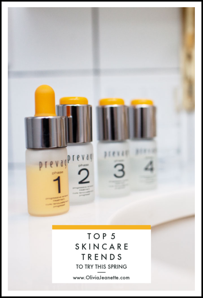 Top 5 Skincare Trends to Try this Spring | skincare | beauty tips | beauty supplements | hybrid skincare | customized skincare | beauty trends || Olivia Jeanette #beautytrends #newskincare