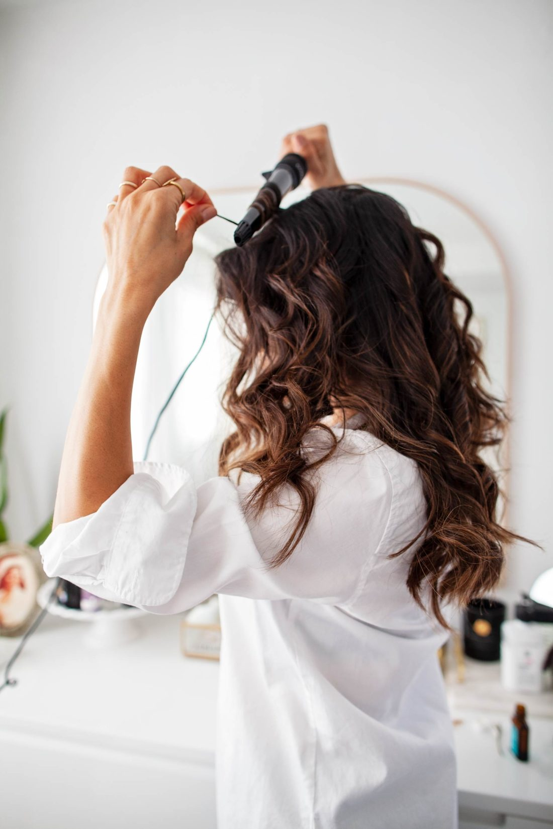 Xtava It Curl Curling Wand from Amazon Curling wand makes perfect waves