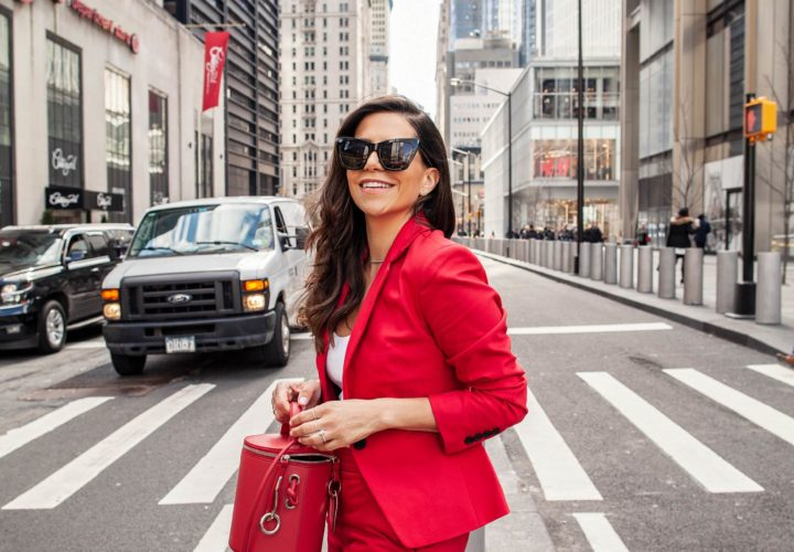 7 Easy Ways to Style a Red Suit